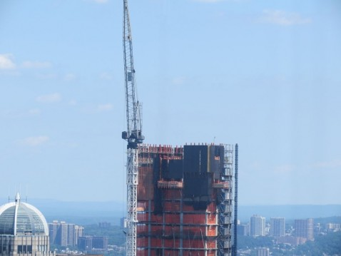 One Crane Before Collapse