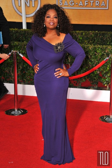 Oprah Badgley Mischka Sag Awards Tom Lorenzo Site