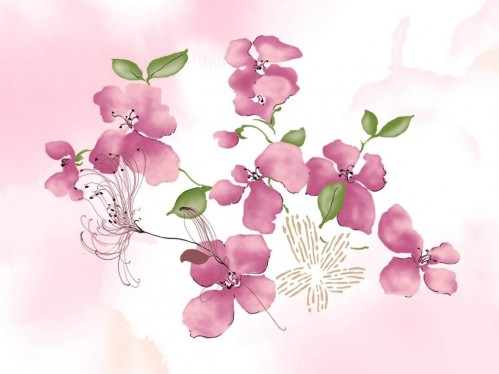 Wonderful Flowers Paintings Pictures And Wallpapers Of Flowers
