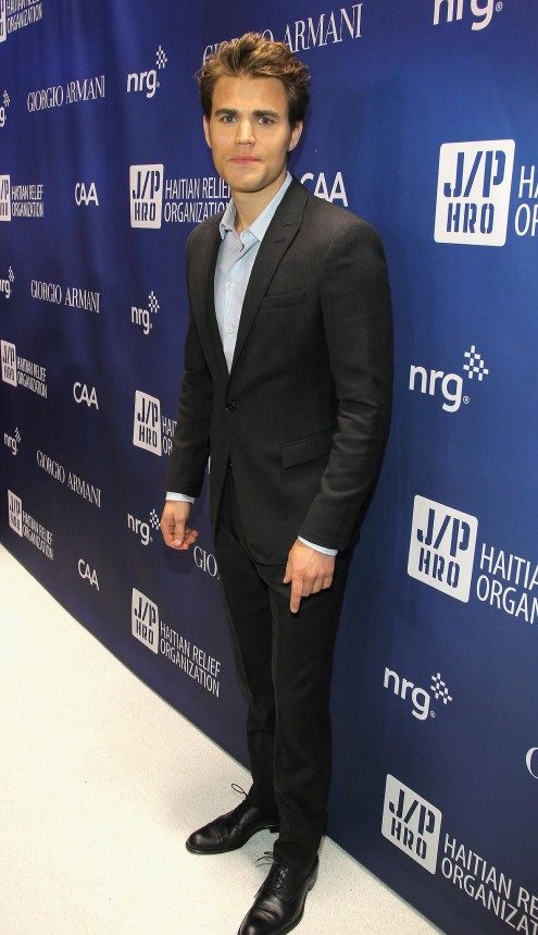 Paul Wesley Suited Up Party
