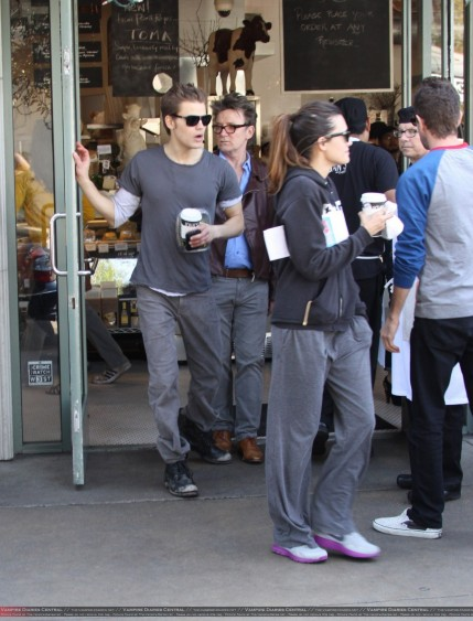 Paul Wesley Torrey Devitto More Pics From Valentine Day The Vampire Diaries Tv Show
