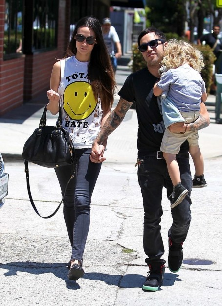 Pete Wentz Meagan Camper Lunch Date With Bronx