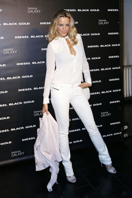 Petra Nemcova Diesel Black Gold Spring Fashion Show In New York City