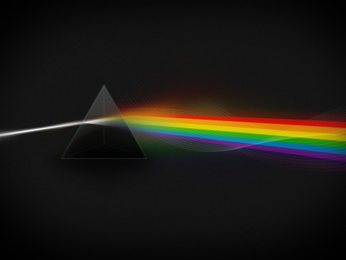 Pink Floyd The Dark Side Of The Moon Light Spectrum