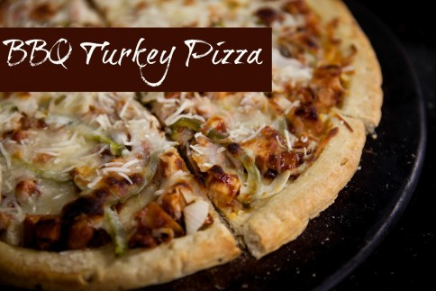 Barbeque Turkey Pizza