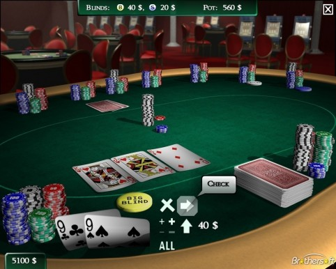 Texas Holdem Poker All In Edition