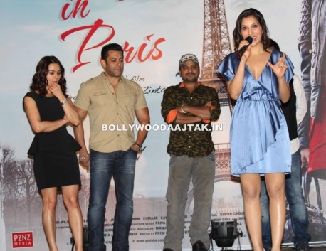 Preity Zinta Salman Khan Launch Ishkq In Paris Movie Music Images And Salman Khan