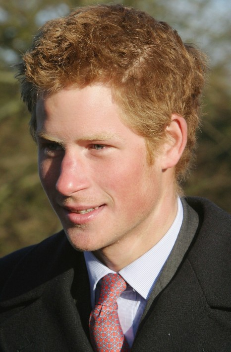 Prince Harry Attended Christmas Day Service Norfolk