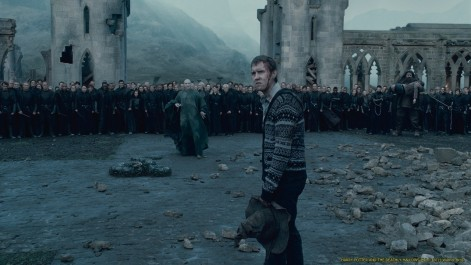 Ralph Fiennes As Lord Voldemort And Matthew Lewis As Neville Longbottom Voldemort