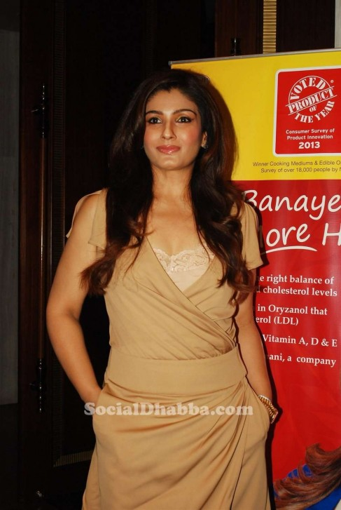 Raveena Tandon At Riso Refined Ricebran Oil Celebration Event