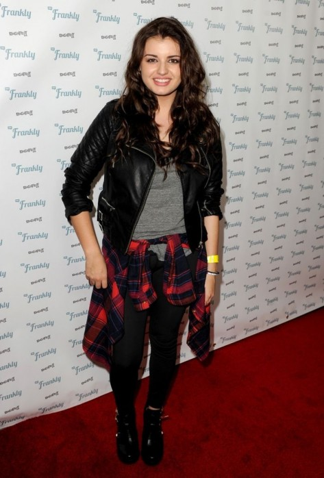 Rebecca Black At Rd Annuaul Digifest La In Los Angeles Beach
