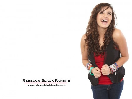 Rebecca Black Beautiful Actress Wallpaper