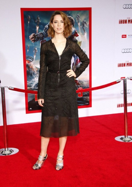 Rebecca Hall At Iron Man Premiere In Hollywood Iron Man