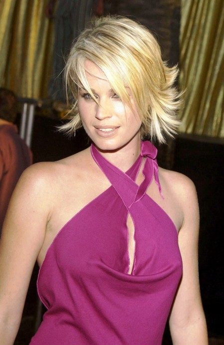 Rebecca Romijn Wearing Seductive Top Fashion