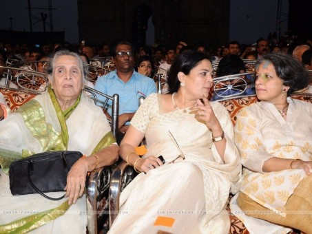 Reema Lagoo At Th Marathi Chitrapatt Puraskar Sohla At Gatewa Hot