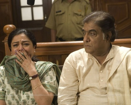 Still Image Of Reema Lagoo And Anjan Srivastava Wallpaper
