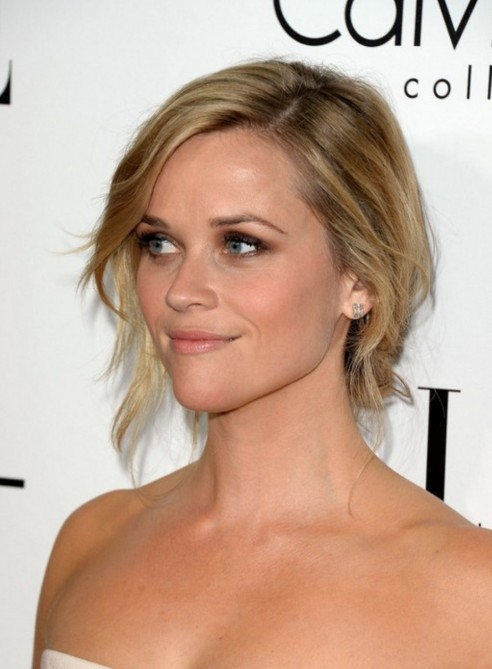 Reese Witherspoon Chignon Hairstyle