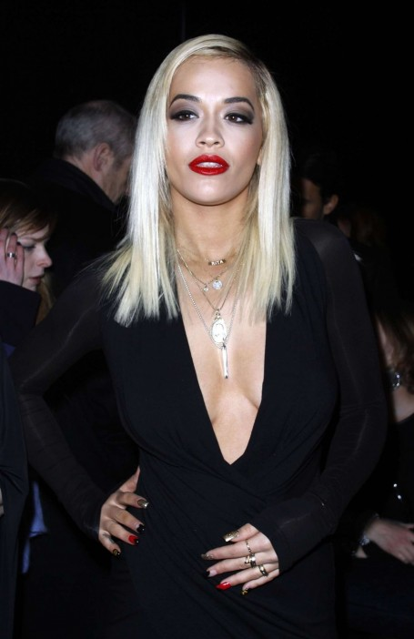 Rita Ora Fashion Show In Nyc Donna Karan