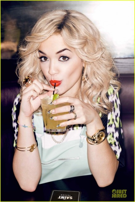 Rita Ora Flare Feature