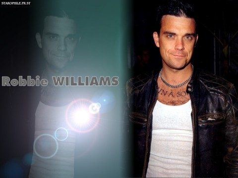 Robbie Williams Young
