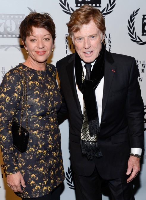 Best Actor Winner Robert Redford And Wife Sibylle Szaggars Wife