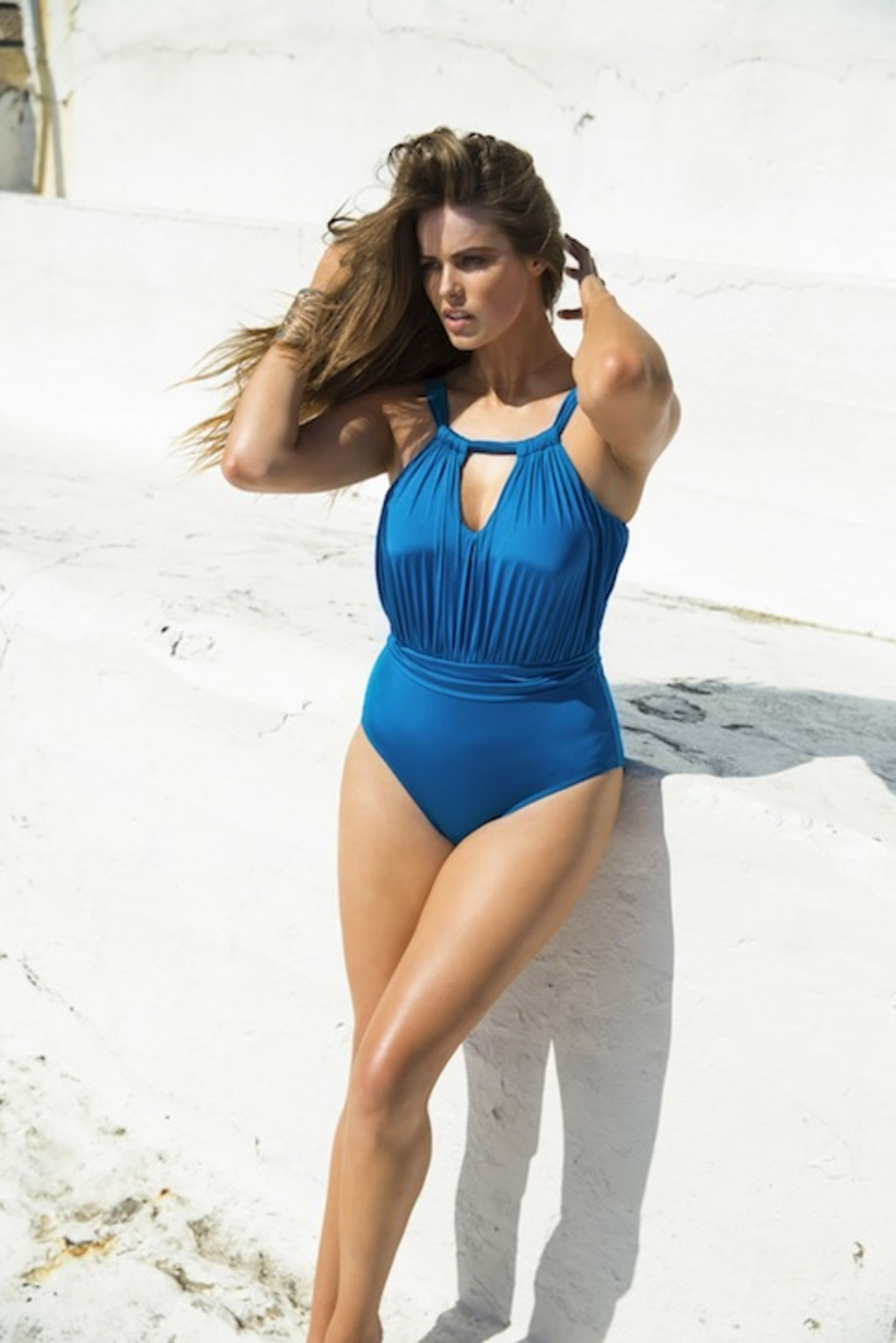 Robyn Lawley Blue Swimsuit Main Size