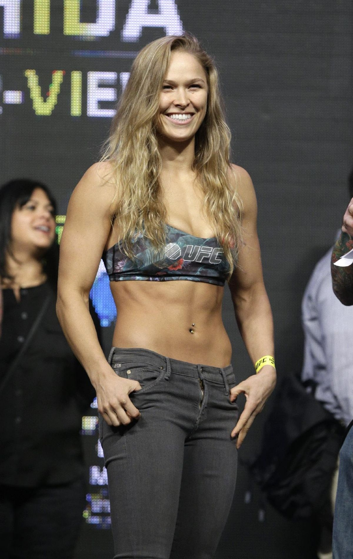 Ronda Rousey At Ufc Weigh In