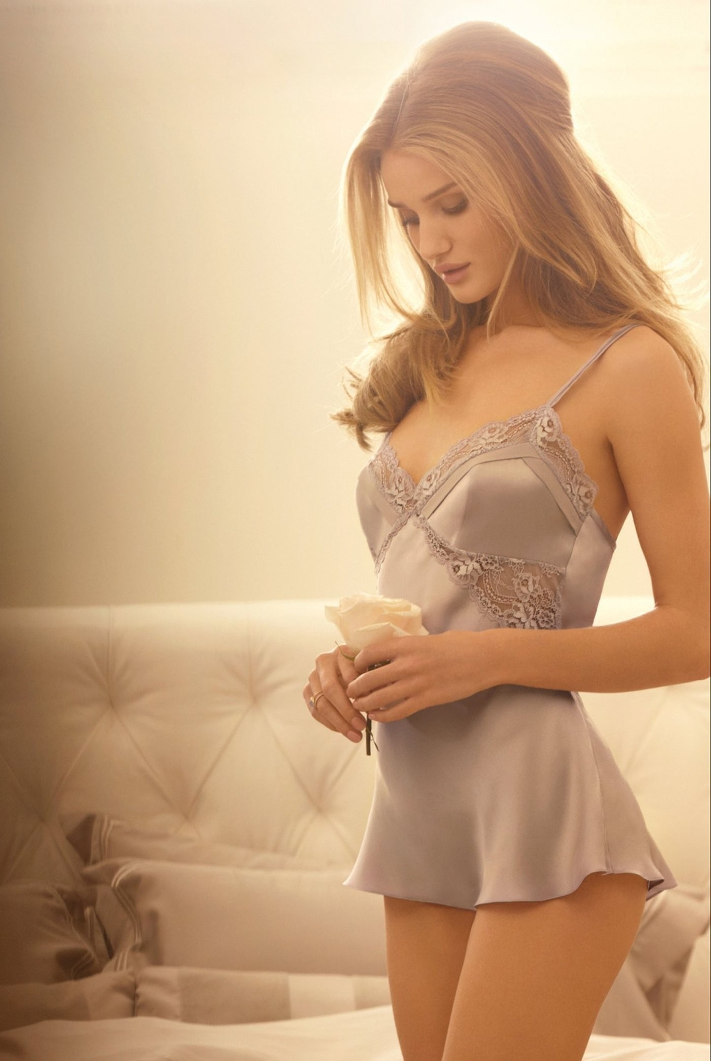 Lingerie Collection Marks Spencer Autograph Of Rosie Huntington Whiteley Hot