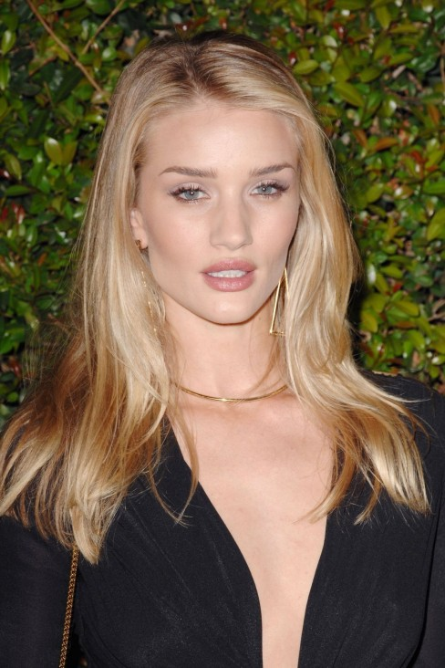 Rosie Huntington Whiteley At Chloe Fashion Show And Dinner In Los Angeles Fashion