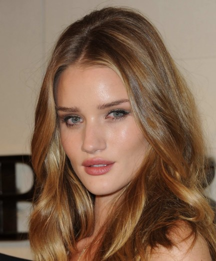 Rosie Huntington Whiteley Burberry Body Launch Body