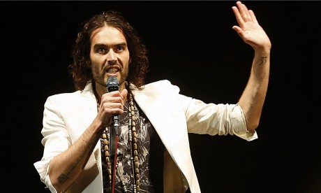Russell Brand On Stage In