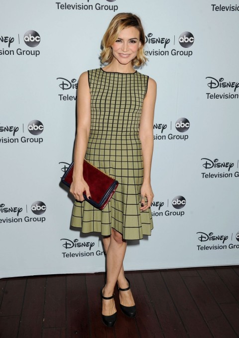 Samaire Armstrong At Disney Abc Television Group Tca Winter Press Tour Fashion