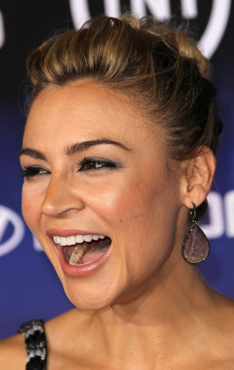 Samaire Armstrong At Premoiere Of Falling Skies