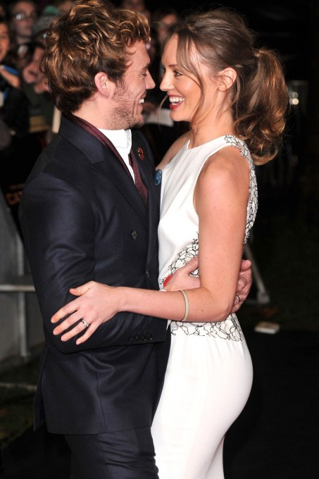 Sam Claflin Laura Haddock Main And Laura Haddock