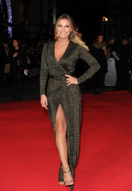 Sam Faiers At The Hunger Games Mockingjay Part Premiere In London