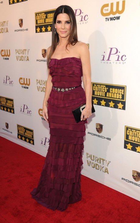 Sandra Bullock Critics Choice Awards