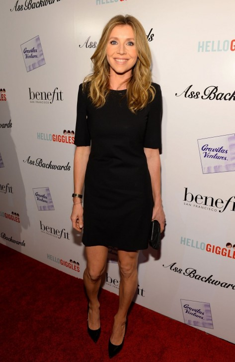 Sarah Chalke At The Ass Backwards Premiere In La
