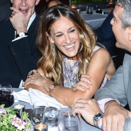 Sarah Jessica Parker Shared Laugh Andy Cohen