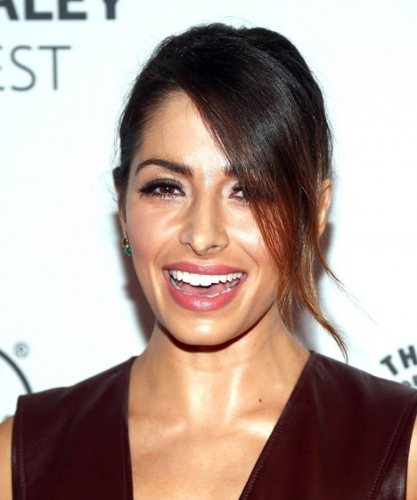 Sarah Shahi At Paleyfest An Evening With Person Of Interest In Beverly Hills