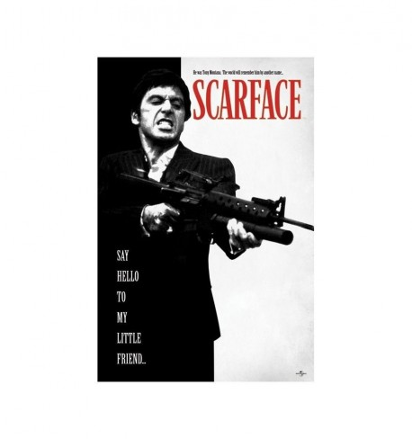 Maxi Poster Scarface Say Hello To My Little Friend Say Hello To My Little Friend