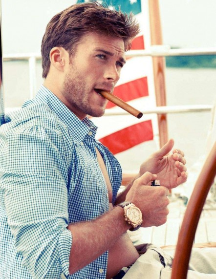 Scott Eastwood Lights Up Cigars And Ladies Hearts Photo Cigar