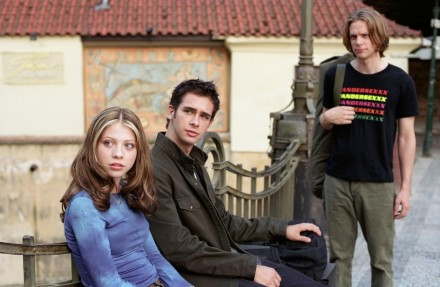 Picture Of Michelle Trachtenberg Jacob Pitts Travis Wester And Scott Mechlowicz In Eurotrip Large Picture