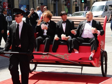 Sean Hayes Chris Diamantopoulos And Will Sasso In The Three Stooges Large Picture Will Sasso
