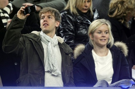 Hanna Prater Is Married To Sebastian Vettel Theyre Childhood Sweethearts And Recently Had Baby Girlfriend
