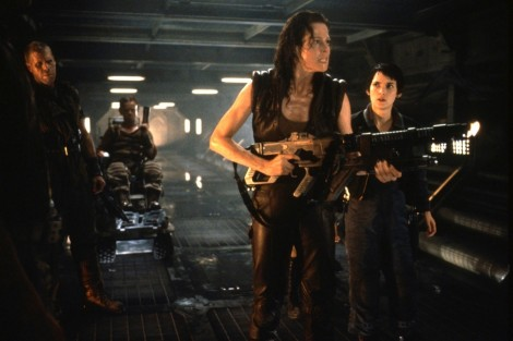 Alien Resurrection Sigourney Weaver Alien