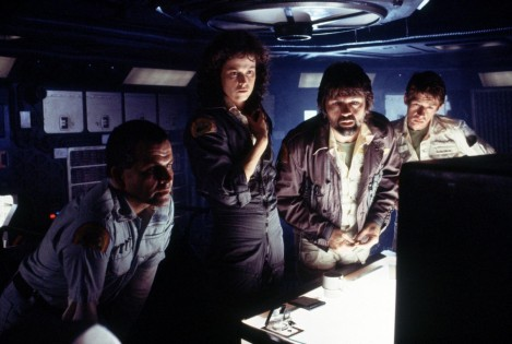 Still Of Sigourney Weaver Ian Holm John Hurt And Tom Skerritt In Alien Large Picture Alien