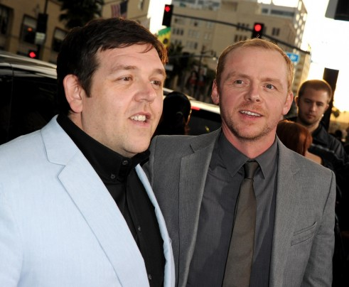 Nick Frost And Simon Pegg In Paul Un Extraterestru Fugit De Acasa Large Picture And Nick Frost
