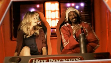 Snoop Dogg Kate Upton Star In Bizarre Fully Baked Hot Pockets Ad Hot