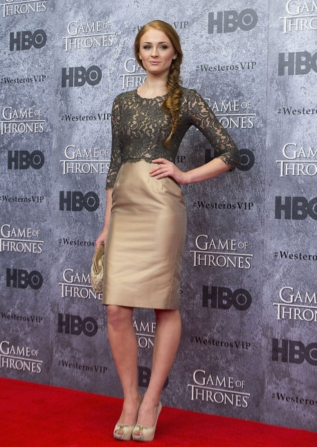 Sophie Turner At Game Of Thrones Season Premiere In Seattle Full Game Of Thrones