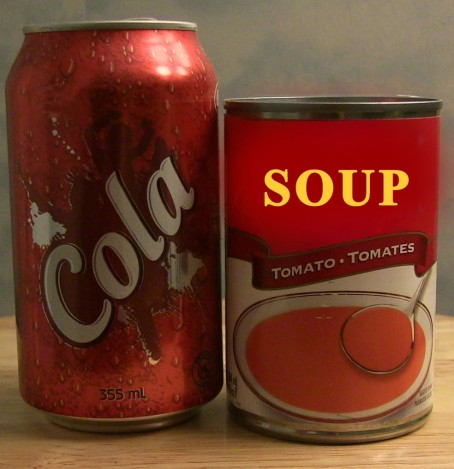 Pop Can Soup Can Can